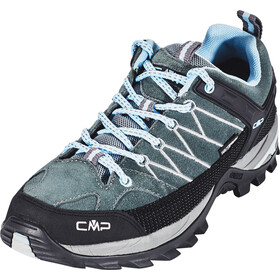 CMP Campagnolo Rigel WP Low Trekking Shoes Women graffite-azzurro
